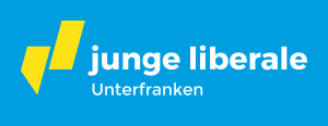 Logo der JuLis Unterfranken in blau